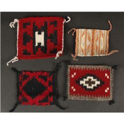 Collection of (4) Miniature Navajo Rugs