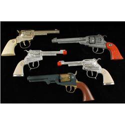 Lot of (5) Antique Cap Guns