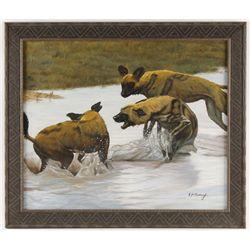 Oil on Canvas by E.H. Harvey
