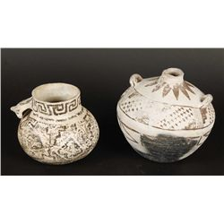 (2) Pieces of Indian Pottery