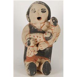 Cochiti Pueblo Storyteller Figure