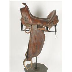 Skeleton Rigged Packer Saddle