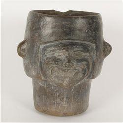 Black Head Pot