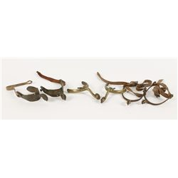 (3) Pairs of Antique Military Spurs