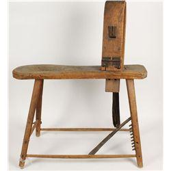 Wooden Saddle Maker's Horse