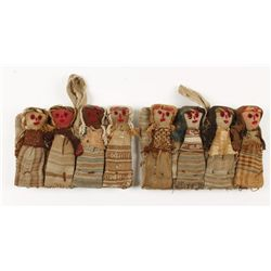 Collection of (8) Tomb Dolls
