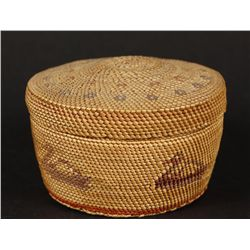 Makah North West Coast Minature Basket