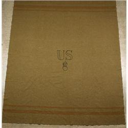 Green WWI Bursting Bomb Blanket