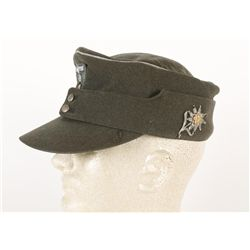 Reproduction Nazi Hat with Mountain Troop Pin
