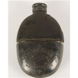 Old West Goldfield Nevada Drinking Flask