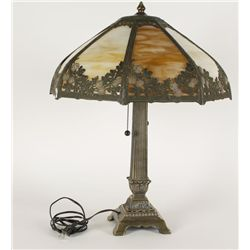 Leaded Lamp With Shade