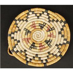 Hopi Coil Flat Basket