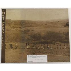 Original Photo Depicting Cow Kachinas