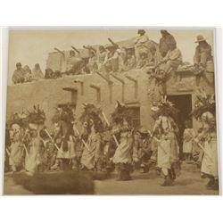 Original Photo of Hopi Cow Kachina's