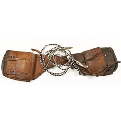 Saddle Bags and Bull Whip
