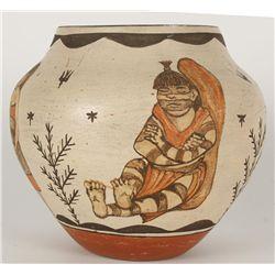 "Zia Pueblo Pot ""Youth Clowns"""