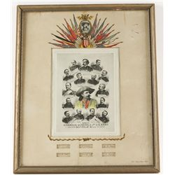 Small Buffalo Bill Poster with Signatures
