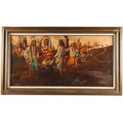 Original Oil on Canvas by Don Precthel