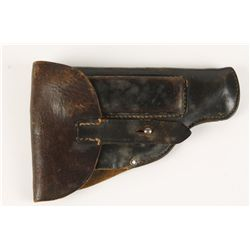 German WWII Waffen SS Walther PPK Leather Holster