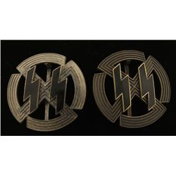 German WWII Waffen SS Sports Badges