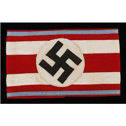 German WWII Leader Orts Level Officers Arm Band
