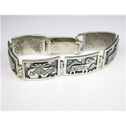 Artistically Inspired Native American Bracelet