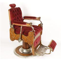 Beautiful Antique Koken Barber Chair