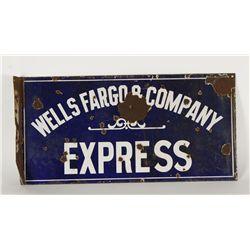 Old West Wells Fargo Advertiser
