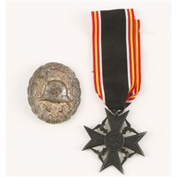 German WWII Spanish Condor Legion Next of Kin