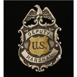 Old West US Deputy Marshal Badge