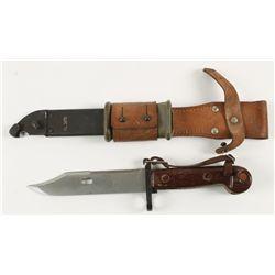 Bayonet Knife with Sheath