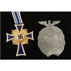 German WWII Gold Mothers Cross