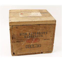 Unopened Wooden Case