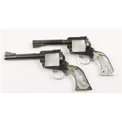 Lot of Two Ruger Blackhawk Cal: .357 Mag.