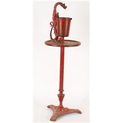 Red Iron Ash Tray
