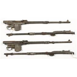 (4) CZ-52 Barreled Actions