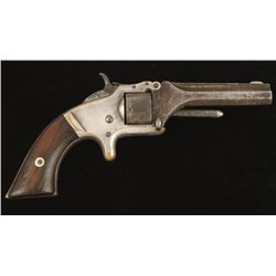 Smith & Wesson Mdl No 1 Cal .22 SN: 100009
