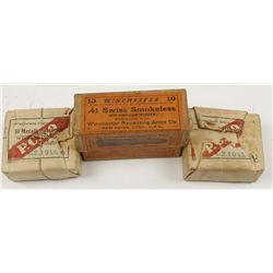 (3) Boxes of .41 Swiss Ammo
