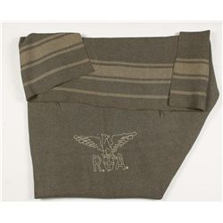 Grey Striped Blanket