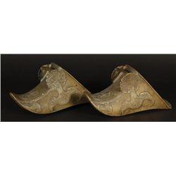 Pair of Brass Spanish Stirrups