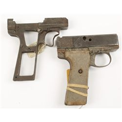 Webley Automatic, Lot of Two Frames Mark I .455