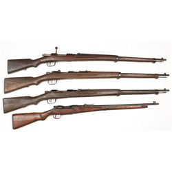 Lot of (4) Japanese Rifles