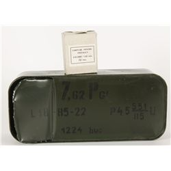 (648) rounds 7.62x25 Ammo