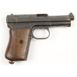 Mauser Parts Pistol 1934 Cal: 7.65mm SN:85725