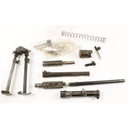 Box Lot of Gun Parts