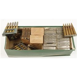 Box Lot of Military Ammo in Stripper Clips