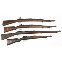 Lot of (4) Mauser
