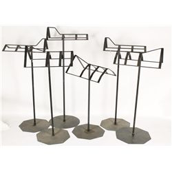 Lot of (7) Saddle Stands