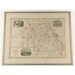 Johnsons Kansas & Missouri Map