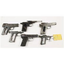 Lot of (6) Pocket Pistol Parts Guns